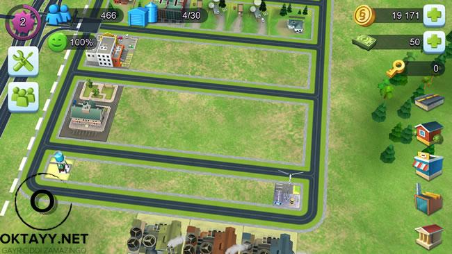 Simcity Buildit Şehir Düzeni