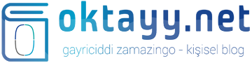 Oktay Yenitürk - Kişisel Blog