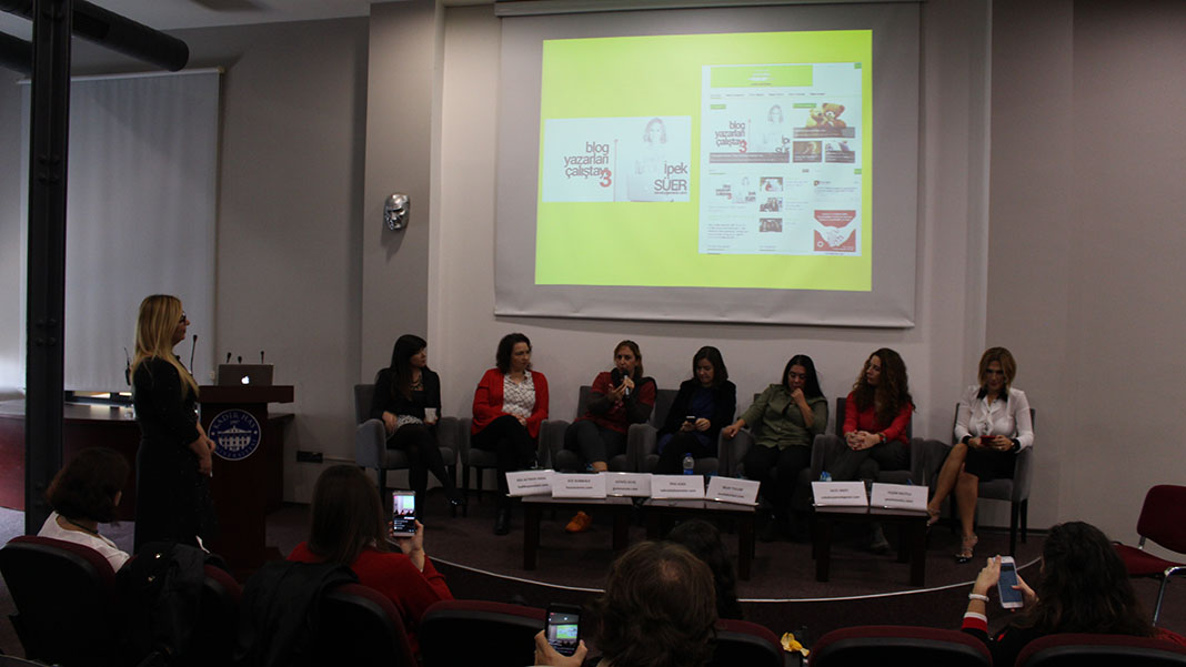 Üçüncü Blog Çalıştayı - Geçmişten Finale Kadın Blogları Oturumu